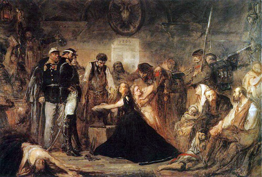 Jan Matejko's Polonia, photo: Wikimedia Commons
