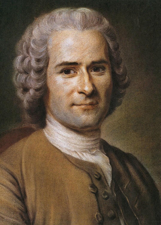 Rousseau by Maurice Quentin de La Tour; Source: Wikimedia Commons