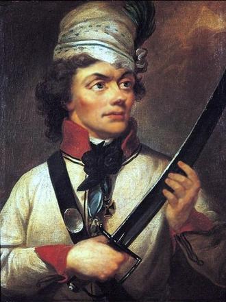 Tadeusz Kościuszko, portrait by Wojniakowski
