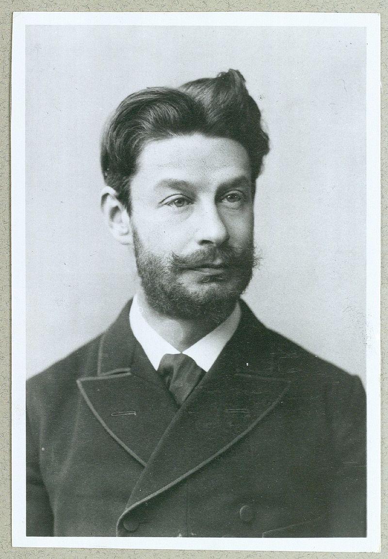 Георг Брандес, 1886, источник: Wikimedia/www.kb.dk