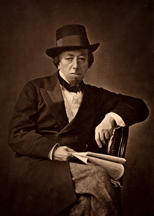 Benjamin Disraeli, Photo: Wikimedia commons