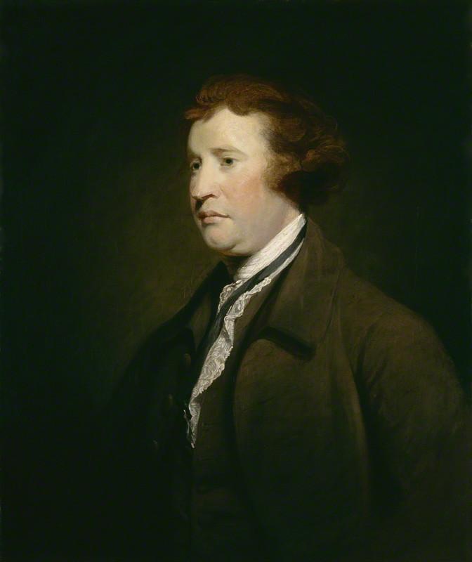 Edmund Burke, ca 1767; Photo: Wikimedia