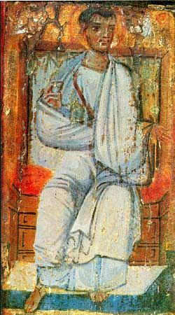 Icon of St. Thaddeus (10th century, Saint Catherine's Monastery, Mount Sinai)