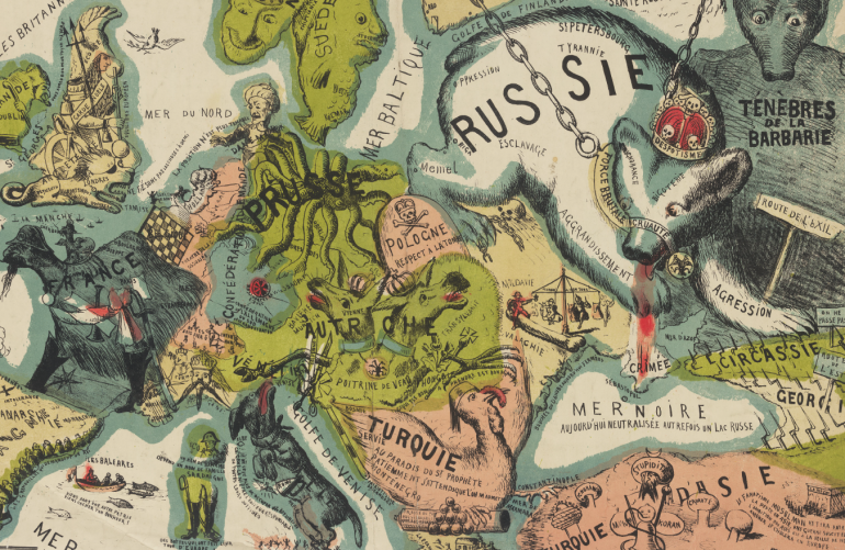 Carte De Leurope En 1942.The Map Is Not The Territory How Satirists Charted Poland When It