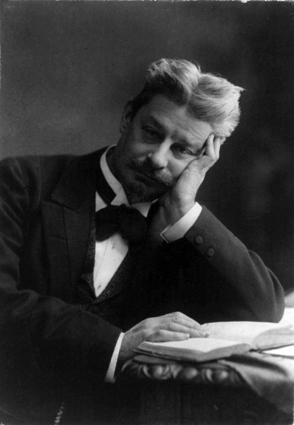 Danish writer: Georg Brandes; Photo: Wikimedia