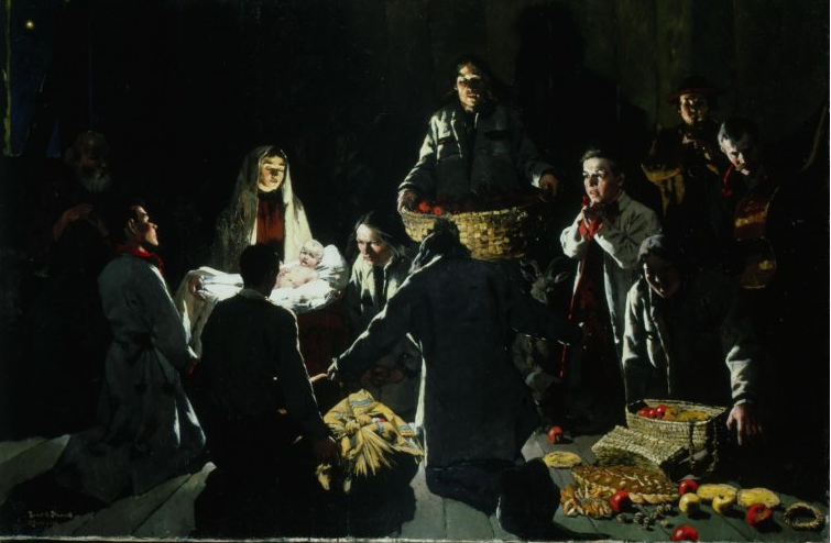 In Betlehem by Ludwik Stasiak, photo: Raczyński Foundation / National Museum in Poznań