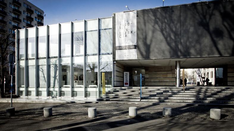 Galeria Sztuki Współczesnej, fot. Dział projektowy GSW